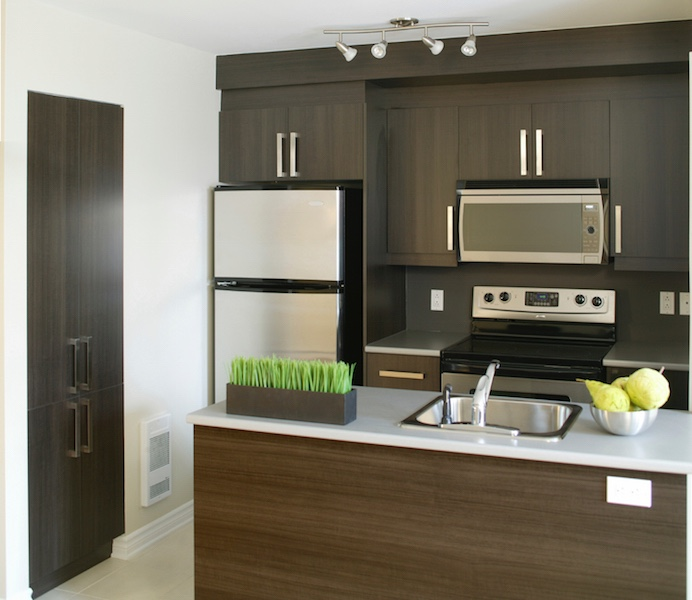 Modern kitchen in a residential home